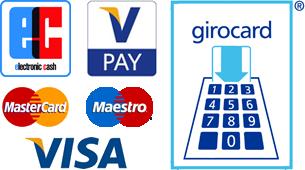 Kartenzahlung möglich